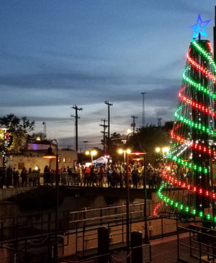 Animated Outdoor RGB LED Pixel Mega Christmas Tree Kit