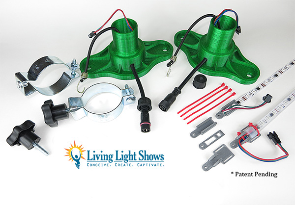 Christmas Light Show Kit.Leaping Arch Base Kit