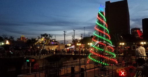 Animated Outdoor RGB LED Pixel Mega Christmas Tree Kit