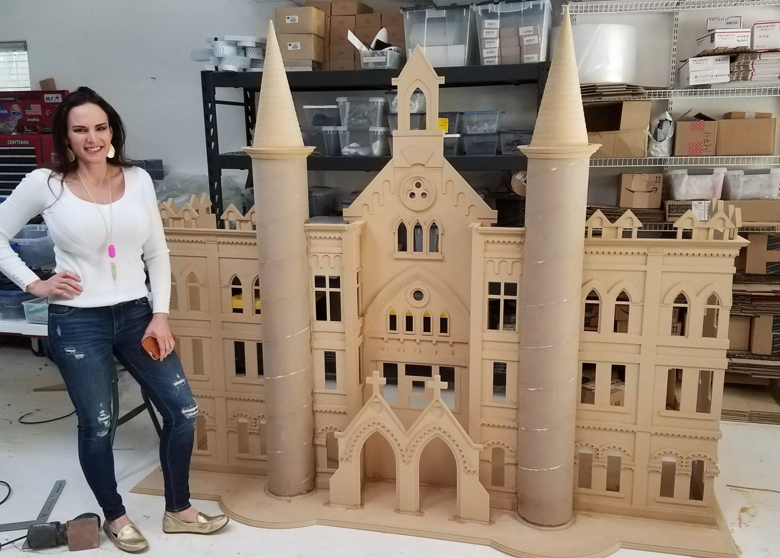 OLLU Building Model Construction